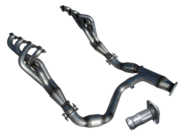 American Racing Headers 1-7/8-Inch Long Tube Headers with Catted Y-Pipe (07-08 6.2L Sierra 1500)