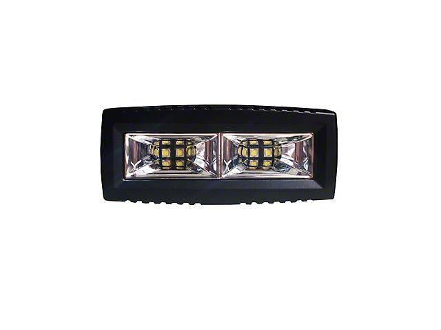 ZRoadz 4 Inch Single Row LED Light Bar; Wide Beam