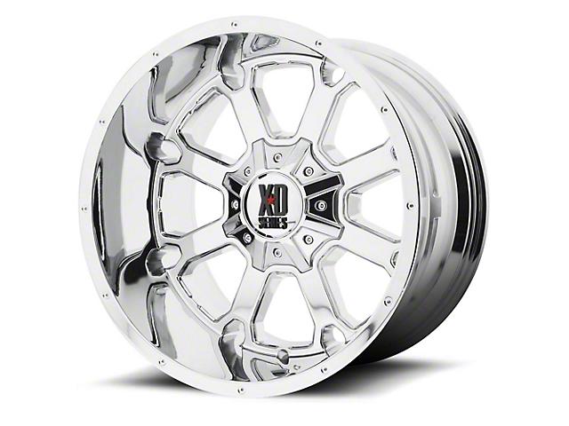 XD Buck 25 Chrome 6-Lug Wheel; 22x10; -18mm Offset (14-18 Sierra 1500)