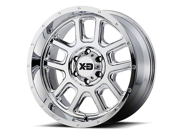 XD Delta Chrome 6-Lug Wheel; 20x12; -44mm Offset (14-18 Sierra 1500)