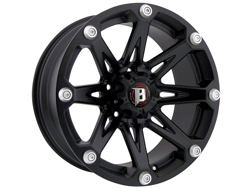 Ballistic Jester Flat Black 6-Lug Wheel - 20x9 (07-20 Sierra 1500)