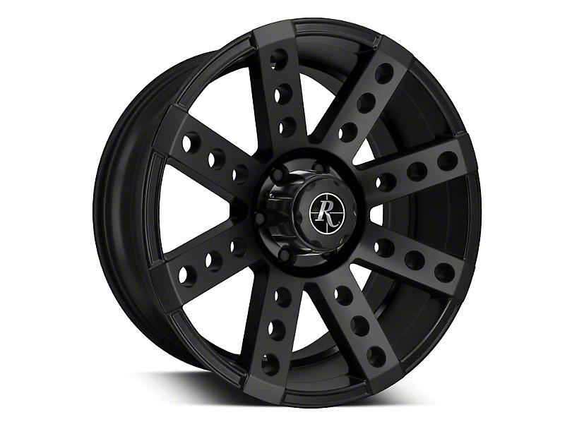 Remington Off-Road Buckshot All Satin Black 6-Lug Wheel - 20x9 (07-19 Sierra 1500)