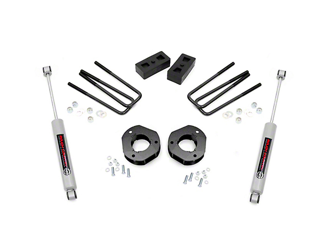 Rough Country 3.5 in. Suspension Lift Kit (07-13 2WD Sierra 1500)