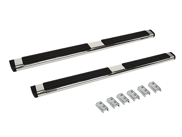 Go Rhino 6 in. OE Xtreme Side Step Bars - Stainless Steel (07-13 Sierra 1500 Crew Cab)