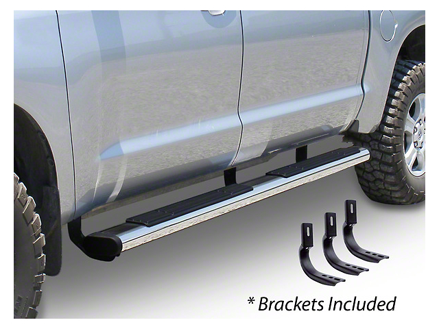 Go Rhino 6 in. OE Xtreme Side Step Bars - Stainless Steel (14-18 Sierra 1500 Crew Cab)
