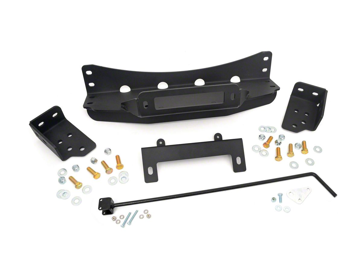 Rough Country Hidden Winch Mounting Plate (07-13 Sierra 1500)