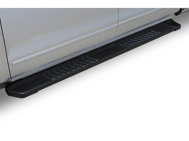 Raptor Series 6-Inch OE Running Boards; Textured Black (14-18 Sierra 1500 Crew Cab)