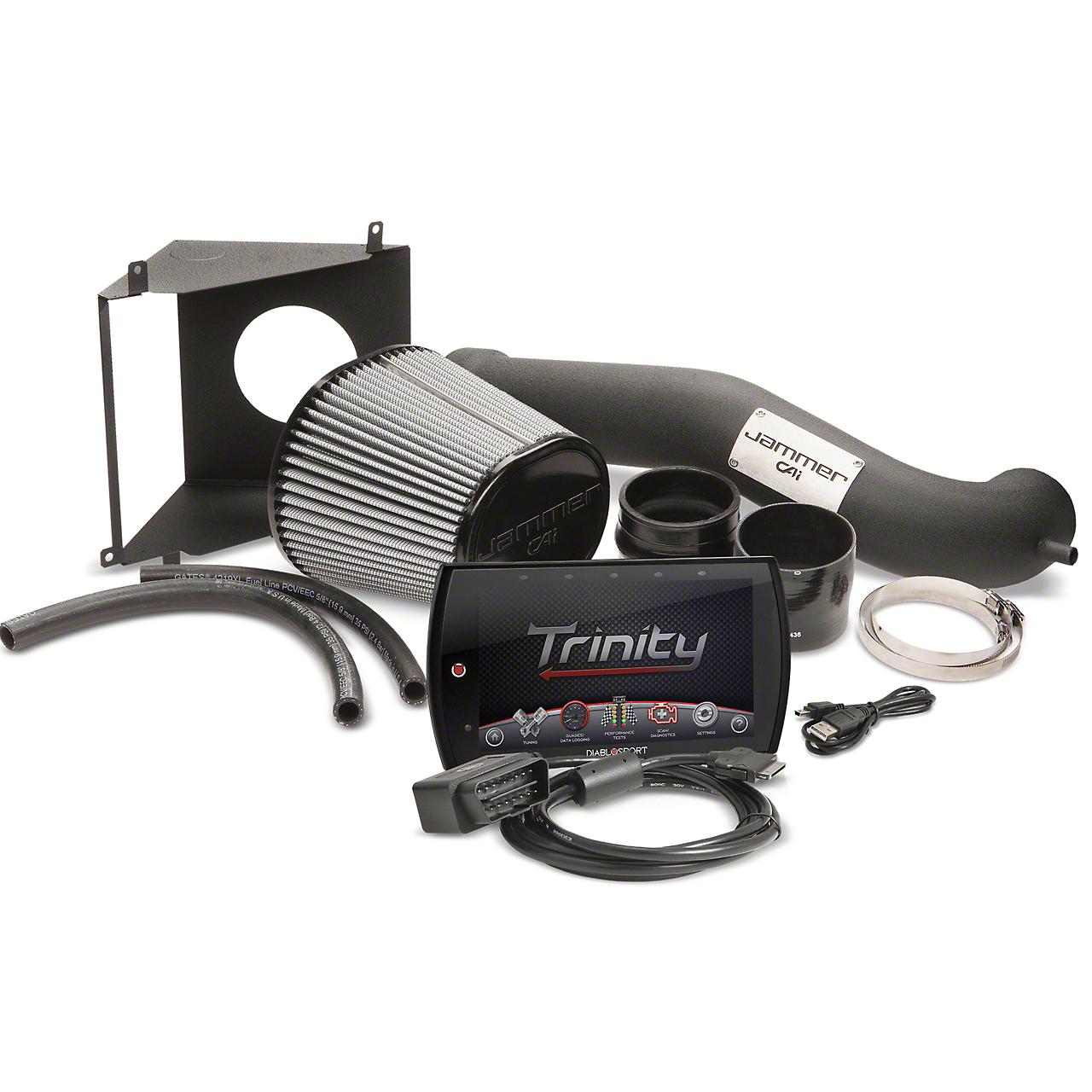 Diablosport Reaper Jammer Cold Air Intake & Trinity 2 Tuner Combo Kit - Stage 1 (09-13 6.2L Sierra 1500)