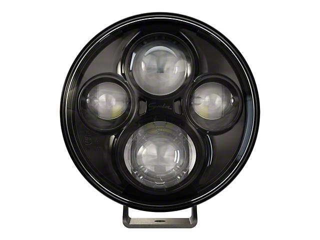J.W. Speaker 7 Inch Model TS4000 Round LED Lights; Black