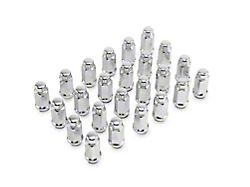 Chrome XL Acorn Lug Nut Kit; 14mm x 1.5; Set of 24 (99-21 Sierra 1500)
