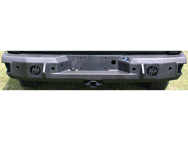 Rear Bumper w/ Round Reverse Light Cutouts (14-18 Sierra 1500)