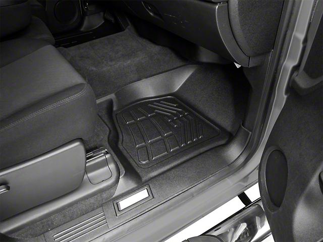 Proven Ground Sure-Fit Front Floor Liners - Black (07-13 Sierra 1500)