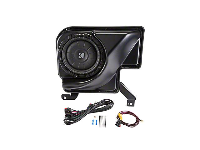 Kicker PowerStage Amplifier & Powered Subwoofer Upgrade Kit (07-13 Sierra 1500 Extended Cab w/ Base Audio)