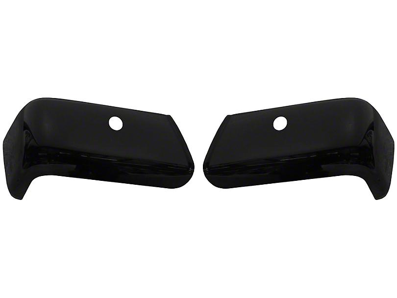 BumperShellz Rear Bumper Covers - Gloss Black (07-13 Silverado 1500)