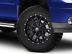 Mayhem Wheels Warrior Matte Black 6-Lug Wheel; 17x9; -12mm Offset (07-13 Sierra 1500)