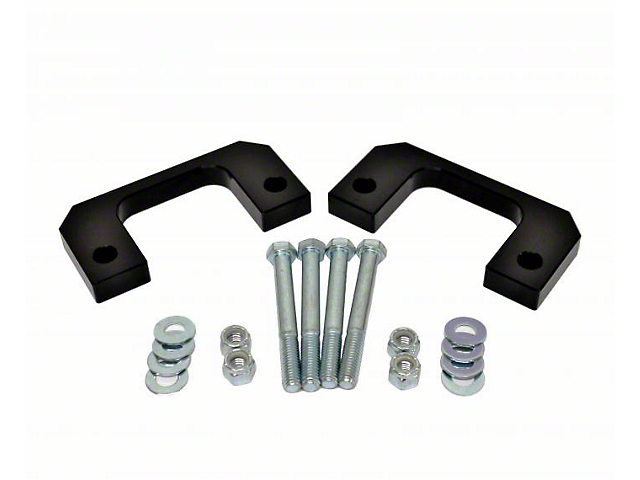 MotoFab 1-Inch Front Leveling Kit (07-21 Sierra 1500, Excluding 14-21 AT4 & Denali)