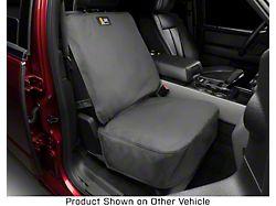 Weathertech Front Seat Protector; Black (99-21 Sierra 1500 w/ Bucket Seats)