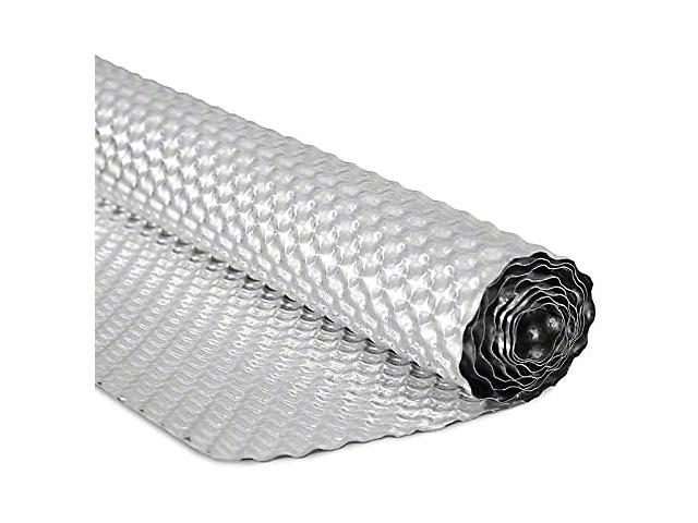 Mishimoto Floor Pan Heat Shield; Embossed Aluminum Heat Shield; 20 Inch x 28 Inch (Universal Fitment)