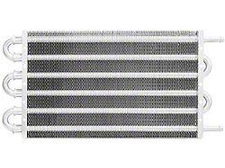 Mishimoto Universal Transmission Fluid Cooler; 12-Inch x 7.50-Inch x 0.75-Inch (Universal; Some Adaptation May Be Required)