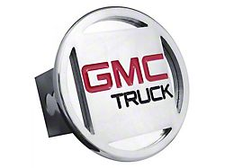 GMC Hitch Cover; Chrome (Universal; Some Adaptation May Be Required)