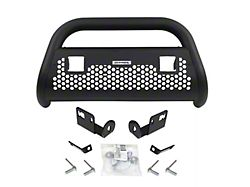 RC2 LR Bull Bar with Two LED Cube Light Mounting Brackets; Textured Black (03-06 Silverado 1500)