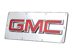 GMC OEM Class III Hitch Cover; Chrome on Mirrored (Universal; Some Adaptation May Be Required)