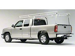 Heavy Duty Aluminum Truck Rack; 1,200 lb. Capacity (99-21 Sierra 1500 Fleetside)