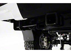 Bushwacker Trail Armor Mud Flaps for Bushwacker Pocket Style Fender Flares; Rear (14-18 Sierra 1500)