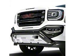 Air Design Front Bumper Guard with DRL; Unpainted (16-18 Sierra 1500)