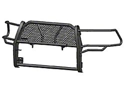 Rugged Heavy Duty Grille Guard with 20-Inch LED Light Bar; Black (14-15 Sierra 1500, Excluding Denali)