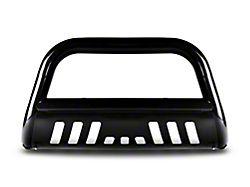 Armordillo Bumper Push Bar; Bull Guard; With Skid Plate; 3-Inch Tubing; Black (99-06 Sierra 1500)