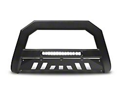 Armordillo Bumper Push Bar; AR Series; With LED; Matte Black (07-18 Sierra 1500)