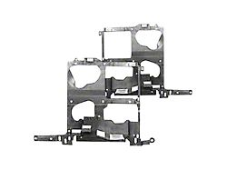 Headlight Mounting Panel; CAPA Certified Replacement Part (03-06 Sierra 1500)