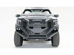 Fab Fours Front Full Width Grumper; Matte Black (19-21 Sierra 1500, Excluding Diesel)