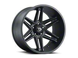 Vision Off-Road 363 Razor Satin Black 6-Lug Wheel; 18x9; 12mm Offset (99-06 Silverado 1500)