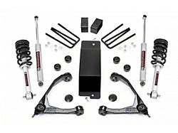 Rough Country 3.50-Inch Upper Control Arm Suspension Lift Kit with Lifted N2.0 Struts (14-16 4WD Sierra 1500 w/ Stock Cast Steel Control Arms, Excluding Denali)