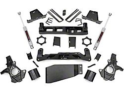 Rough Country 6-Inch Suspension Lift Kit with Premium N3 Shocks (07-13 4WD Sierra 1500)