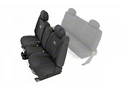 Rough Country Neoprene Front Seat Covers; Black (99-06 Sierra 1500 Regular Cab, Extended Cab)