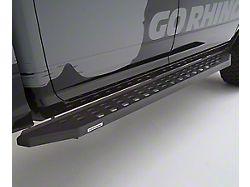 RB20 Running Boards; Textured Black (19-20 Sierra 1500 Crew Cab)