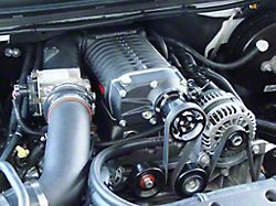 Whipple W140AX 2.3L Intercooled Supercharger Kit; Black (04-06 4.8L Silverado 1500)
