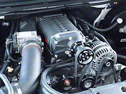 Whipple W140AX 2.3L Intercooled Supercharger Kit; Black (04-06 6.0L Silverado 1500)