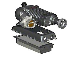 Whipple W140AX 2.3L Intercooled Supercharger Competition Kit; Black (07-13 5.3L Silverado 1500)