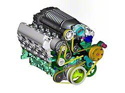 Whipple W175FF 2.9L Intercooled Supercharger Kit; Black (14-18 5.3L Silverado 1500)