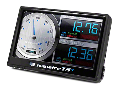 SCT LiveWire TS+ Tuner (07-09 6.0L Sierra 1500, Excluding Hybrid)