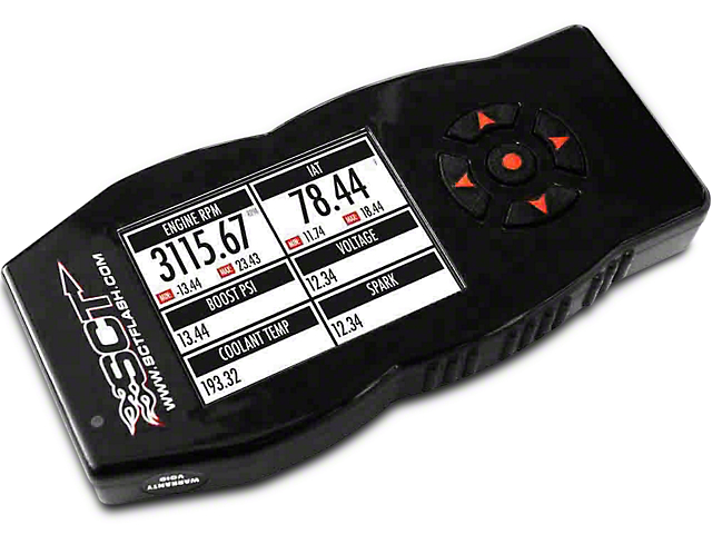 SCT SF4/X4 Power Flash Tuner (07-09 6.0L Sierra 1500, Excluding Hybrid)