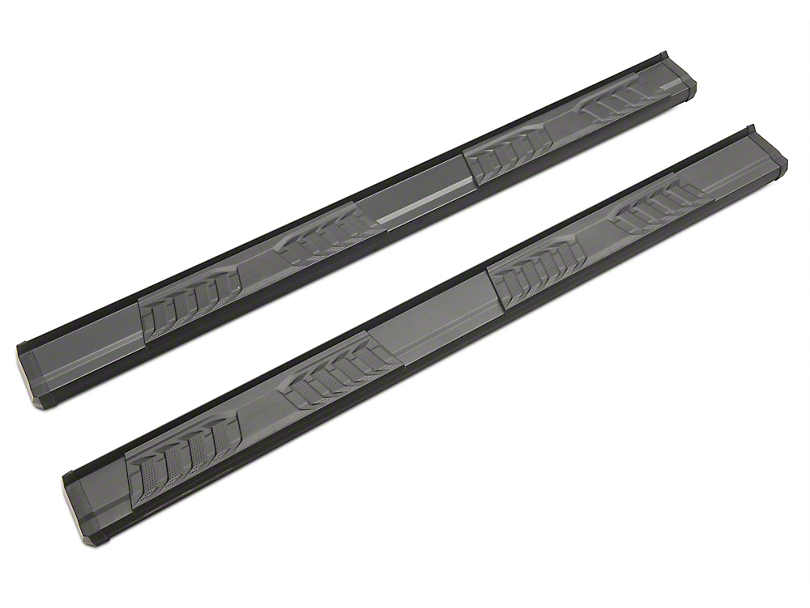 Duratrek S6 Running Boards - Black (11-16 F-250 Super Duty SuperCrew)
