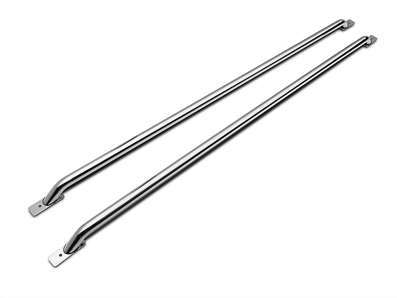 Duratrek Bed Rails - Stainless Steel (11-16 F-250 Super Duty w/ 8 ft. Bed)