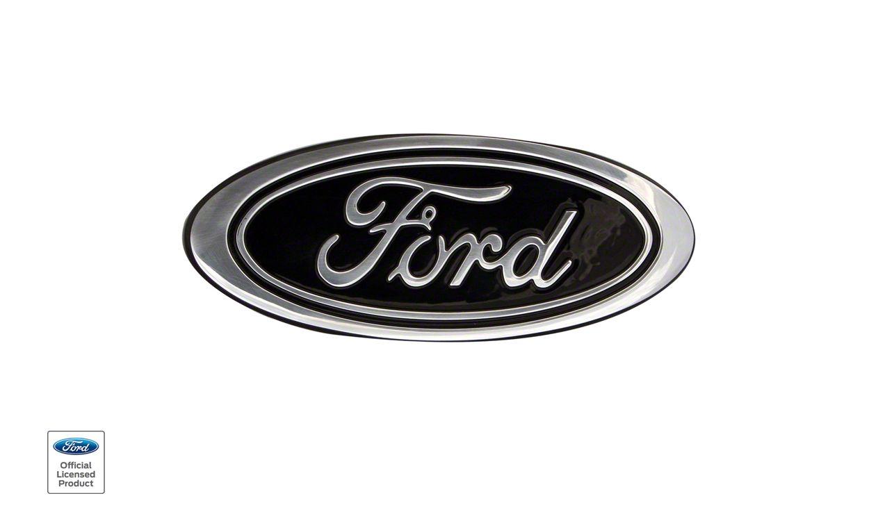 Defenderworx Super Duty Ford Oval Grille Emblem Black 98413 11 16 F 250 Super Duty