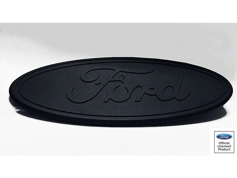 Ford Oval Grille Emblem - Matte Black (11-16 F-250 Super Duty)