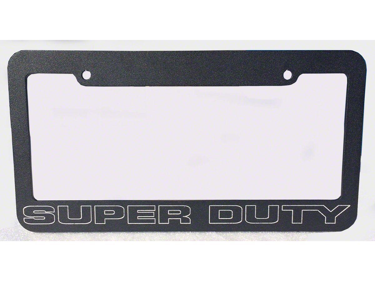 Ford F-250 Chrome Metal license Plate Frame Holder